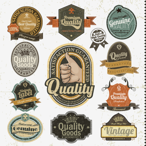 Vintage Badge Vector Free Download