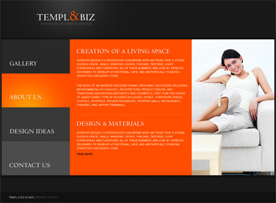 Web Page Design Ideas