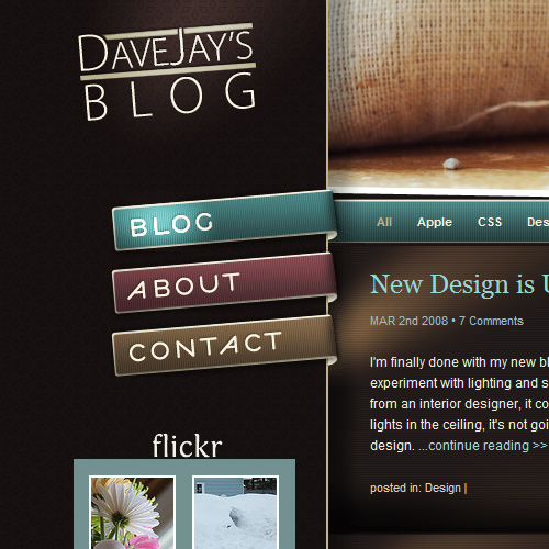 Website Navigation Design Ideas
