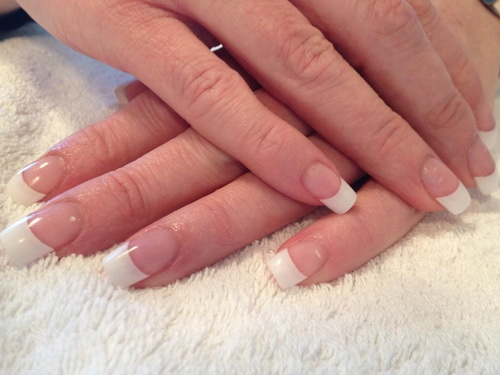 12 White Tip Nail Designs Images Nail Art Designs With White Tips