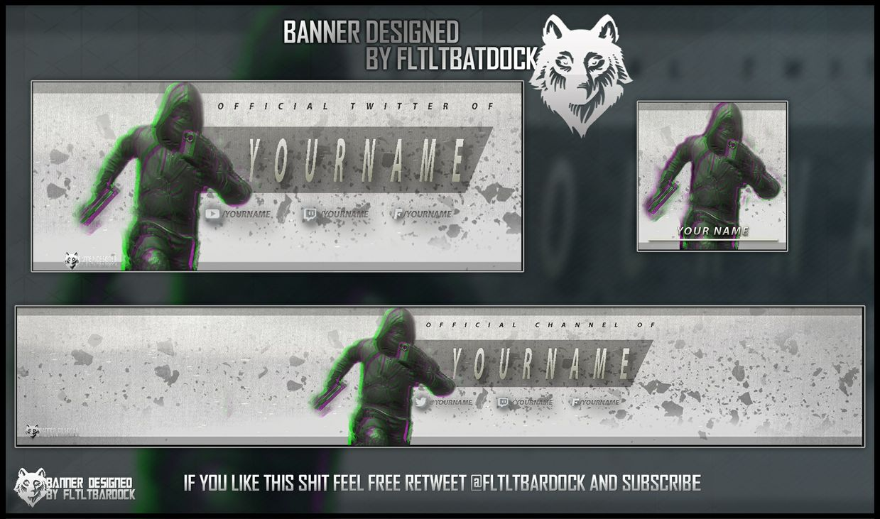 19 BO2 Banner Template Free PSD Images