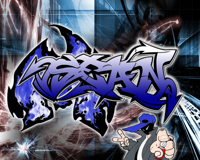 3D Graffiti Fonts