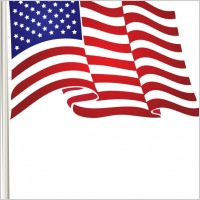 18 American Flag Vector Art Free Images