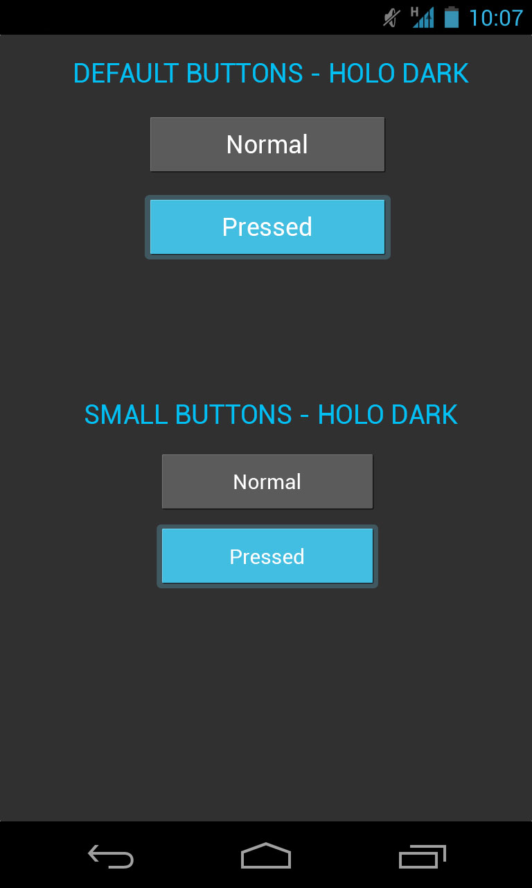 Android Button Design