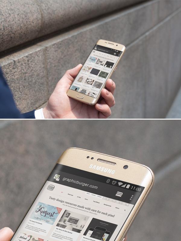 Android PSD Mockup