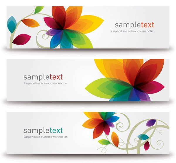17 Modern Flower Vector Free Download Images