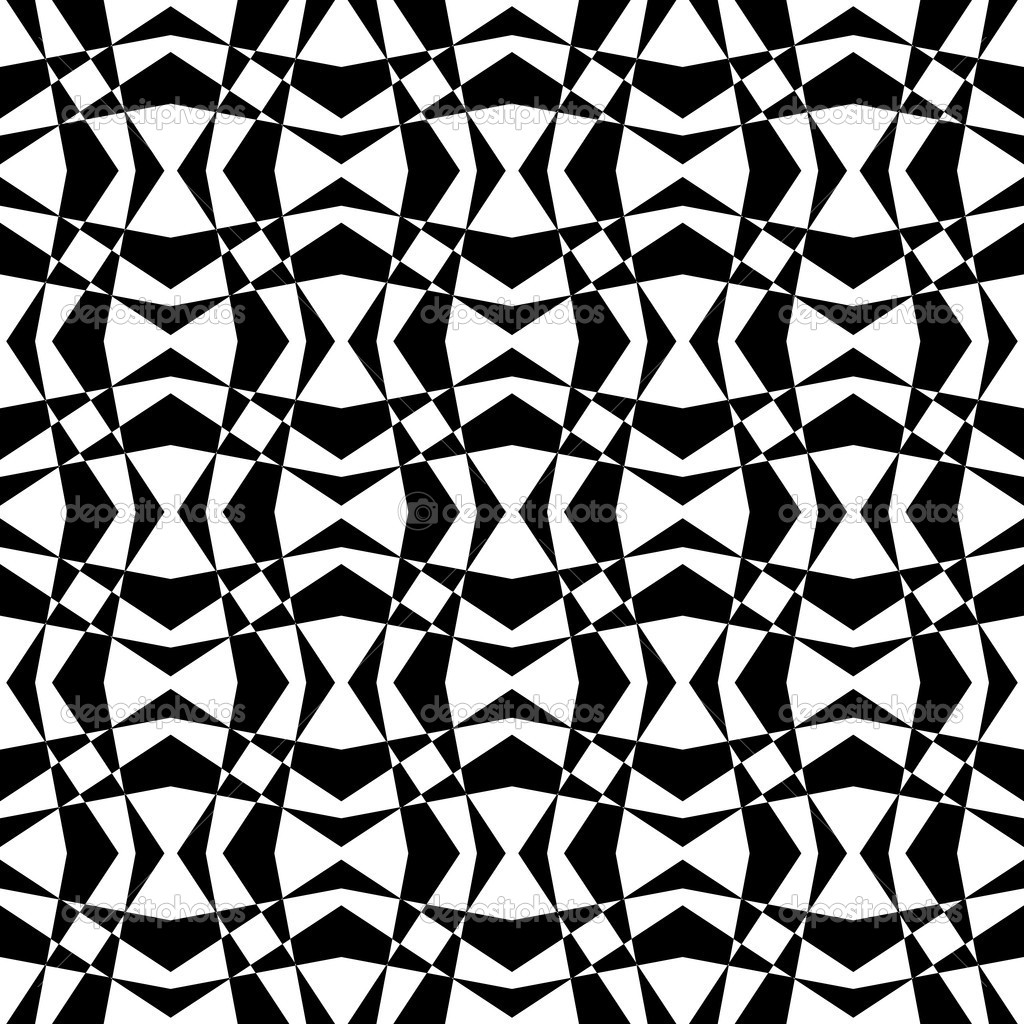 17 White And Geometric Black Designs Images