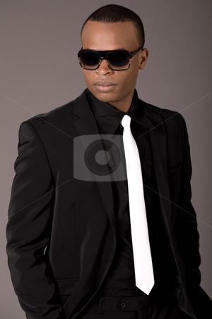 Black Man in Business Suit