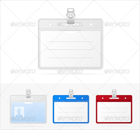 Free Employee Badges Template Pasoevolistco - Free id badge template