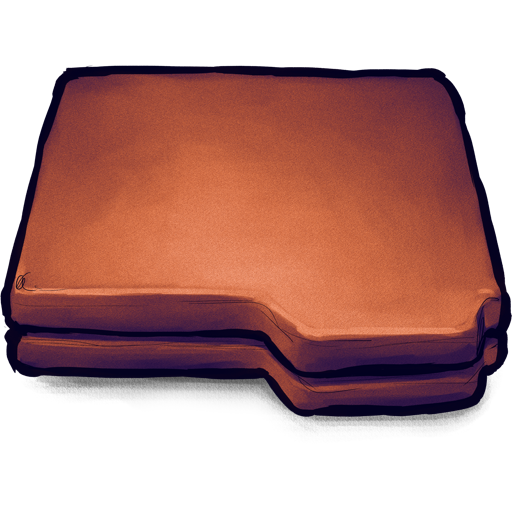 Brown Folder Icon