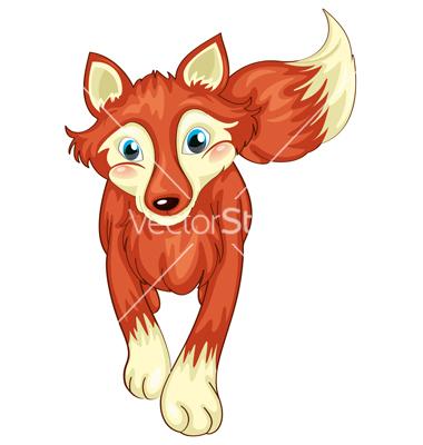 Cartoon Fox Standing