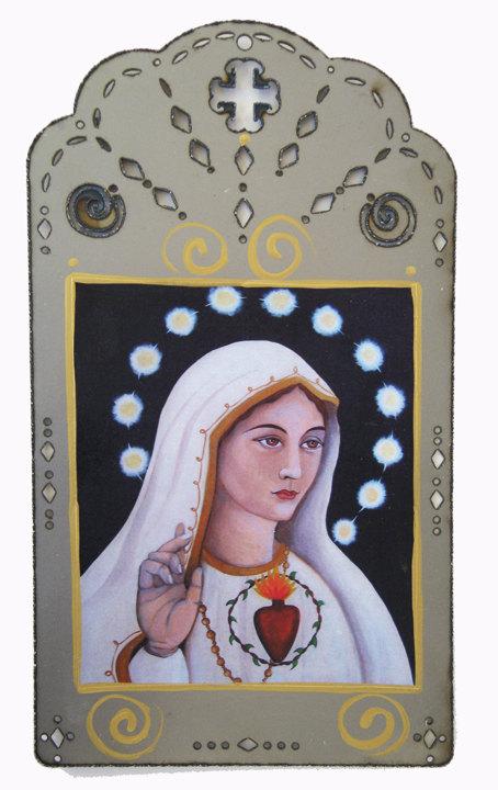 Catholic Our Lady of Fatima Art