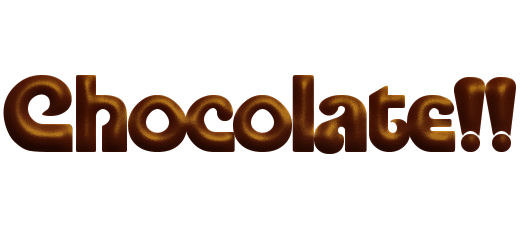 7 Fonts That Look Like Chocolate Images
