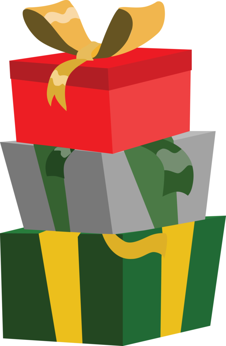 Christmas Present Vector Art