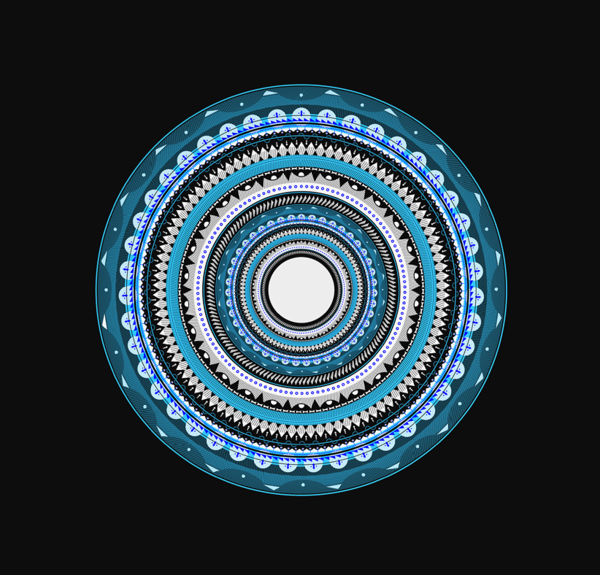 15 Circular Geometric Designs Images