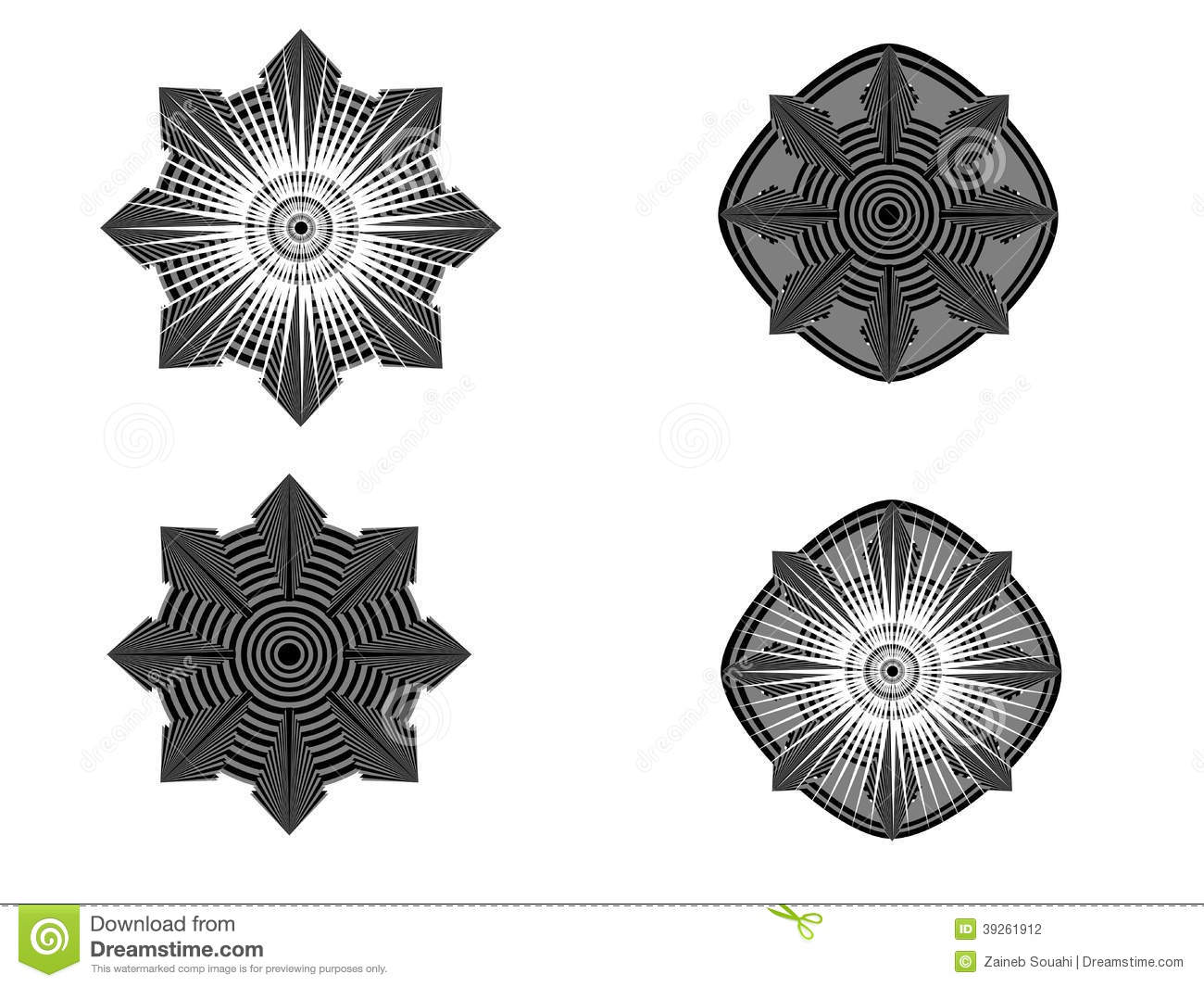 Circular Geometric Patterns