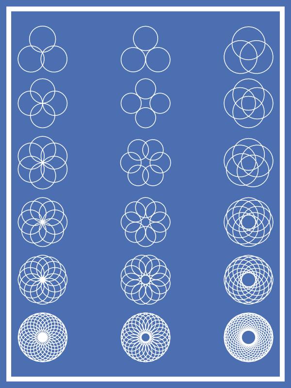 Circular Geometric Shapes