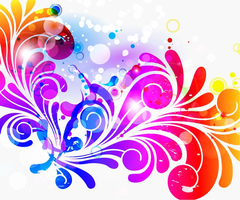 20 Colorful Abstract Background Designs Images