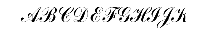 Commercial Script Font Free Download
