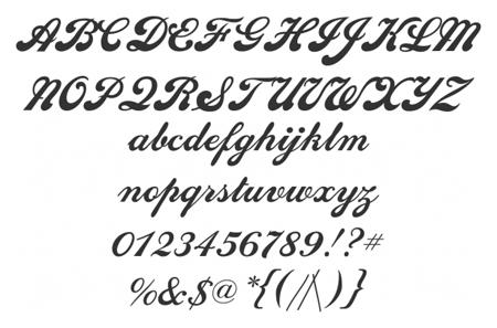 Commercial Script Font Free