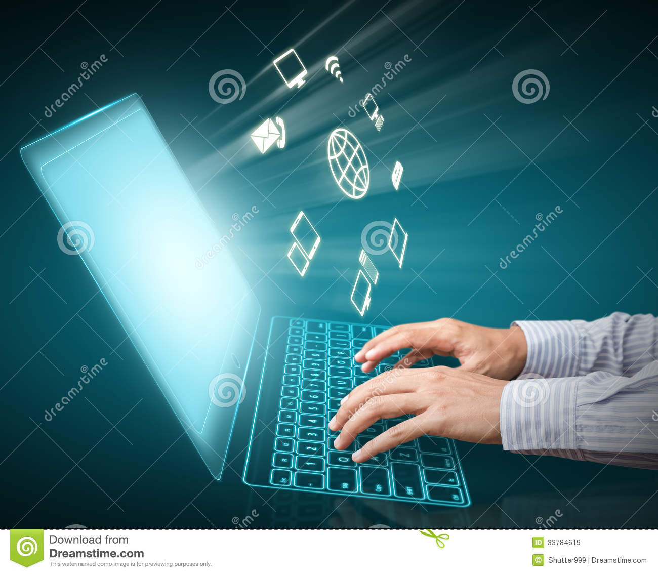 Computer Technology Royalty Free Stock Images