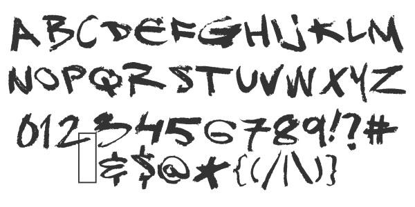 Cool Graffiti Alphabet Fonts