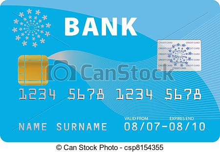 Credit Card Logos Vector Clip Art