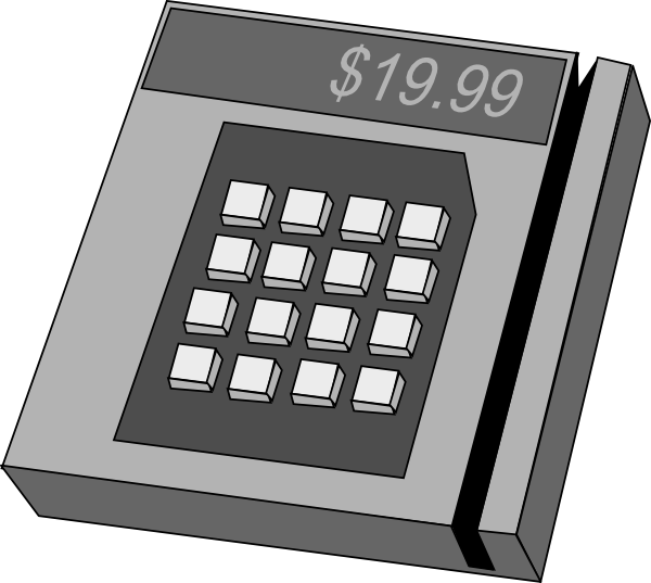 Credit Card Machine Clip Art Free