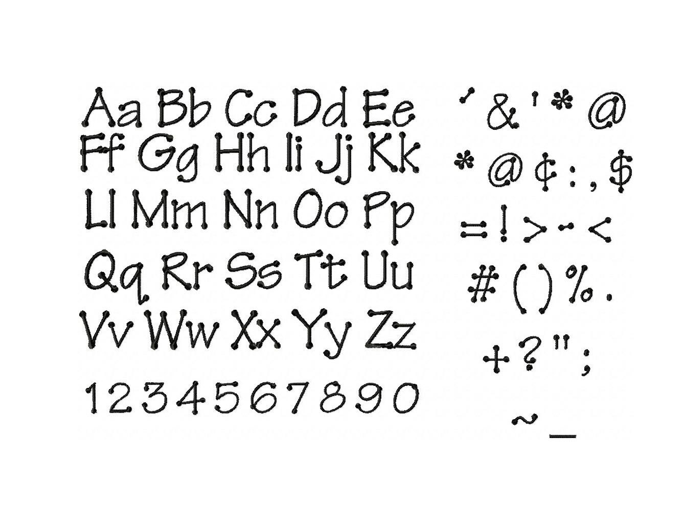 Font Looks Like...