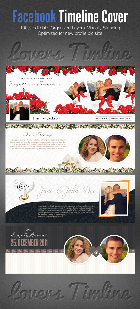 Facebook Timeline Cover Template Photoshop