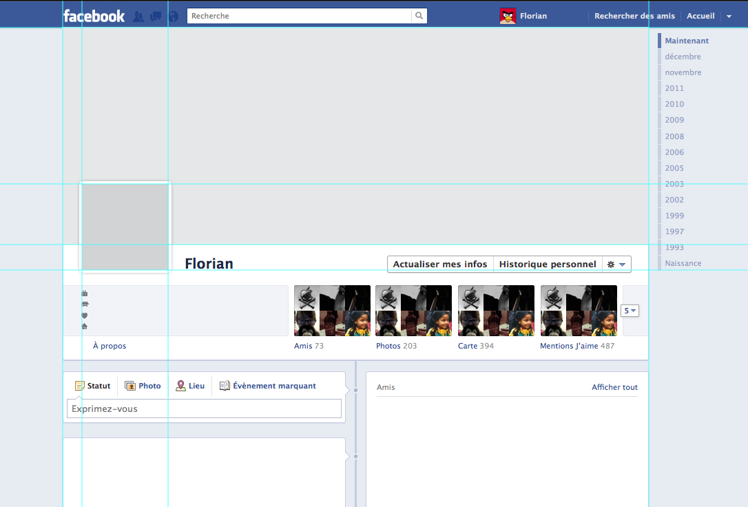 Facebook Outline Template. facebook profile template facebook ...