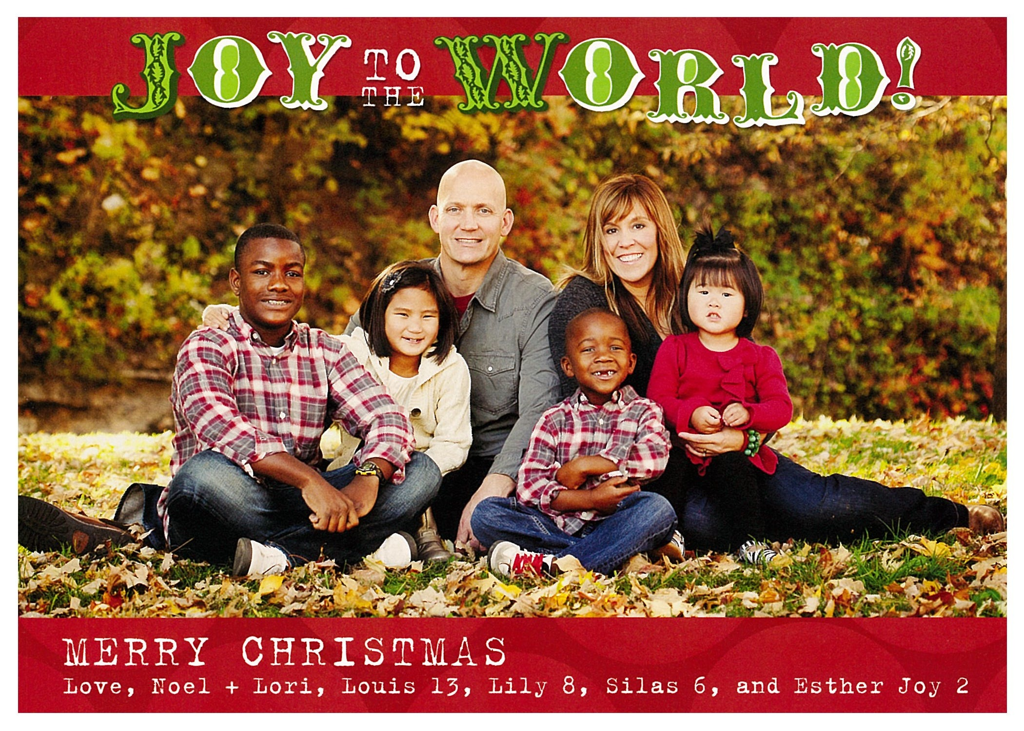 Great family christmas card designs
