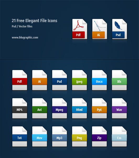 File Extension Icons Free