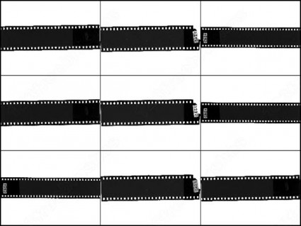 Film Strip Brushes Photoshop