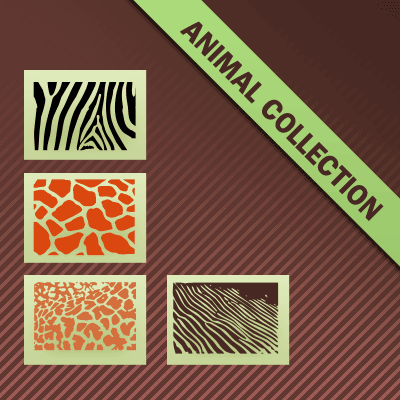 Free Animal Shape Patterns