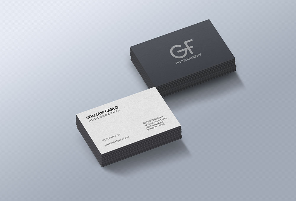 Free Business Cards Mockup Templates