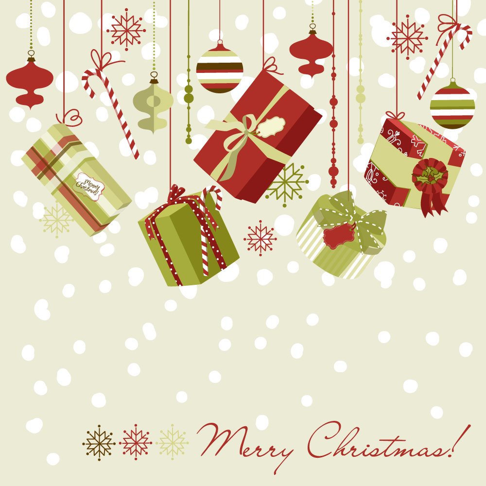 Free Christmas Vector Patterns