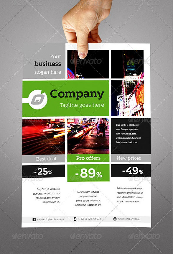 Free InDesign Flyer Templates