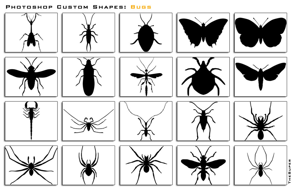 Free Photoshop Custom Shapes