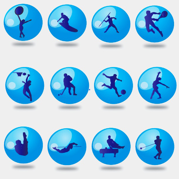 16 Free Sport Vector Icon Sets Images