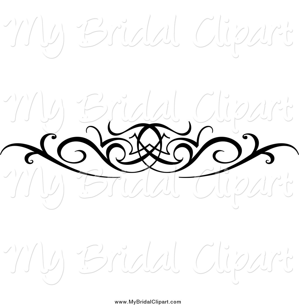 Free Swirl Clip Art Black and White