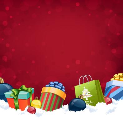 Free Vector Christmas Gift