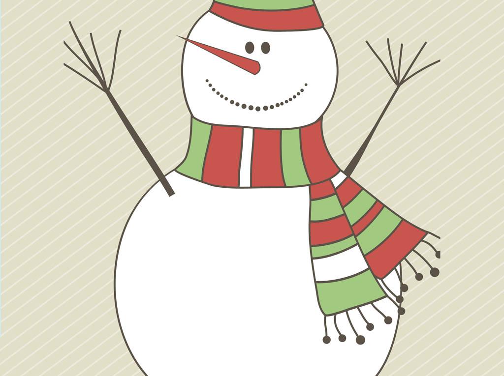 16 Snowman Vector Art Images