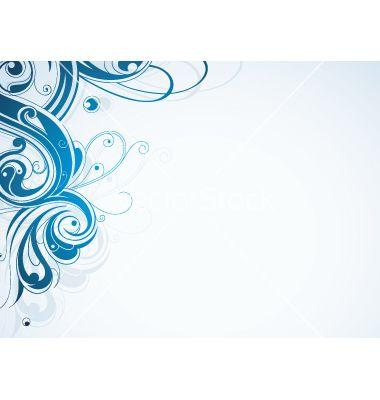Free Vector Swirl Border