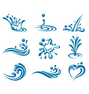 Free Vector Water Icon