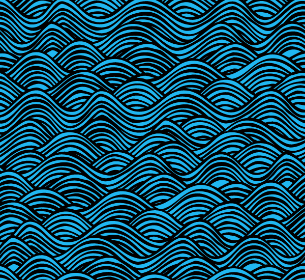 Free Vector Water Pattern