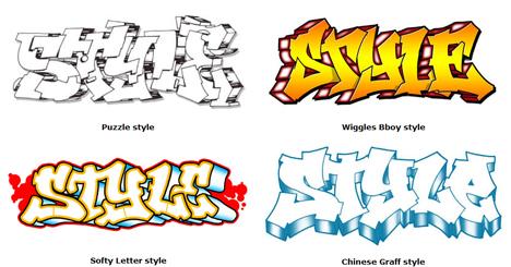 Graffiti Letters Fonts