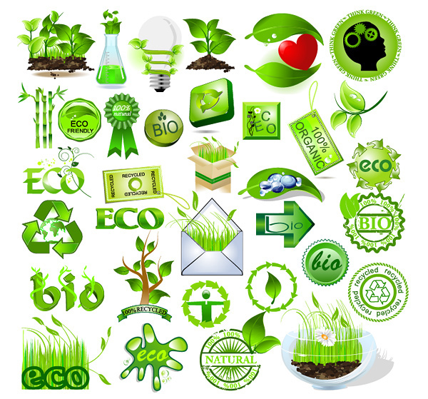 Green Logo Vector Free