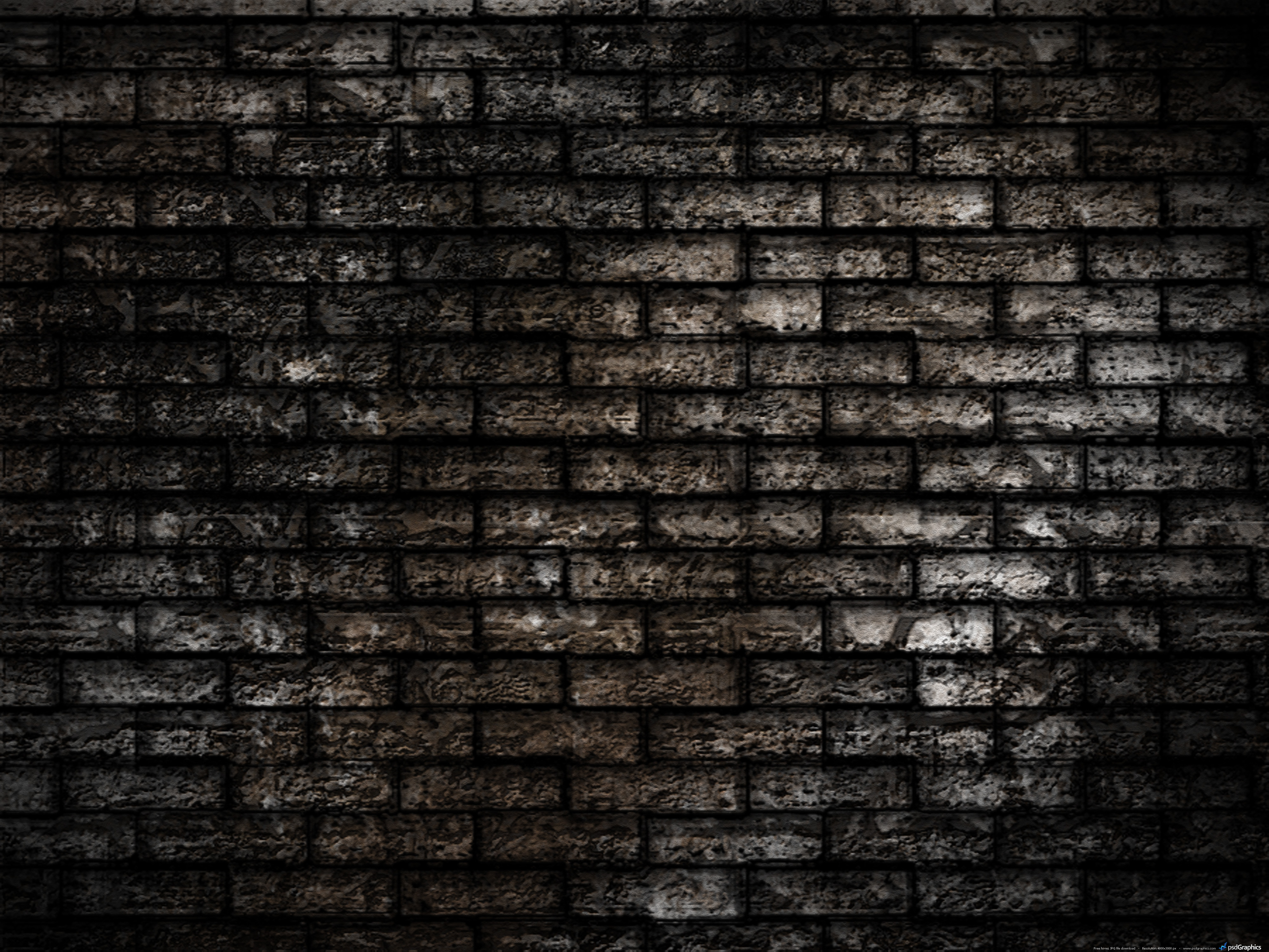 16 Brick Wall Texture Wallpaper PSD Images