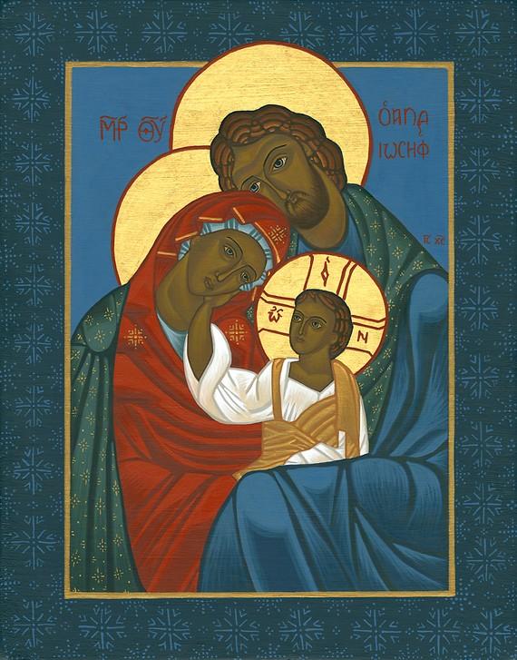 Holy Family Religious Icons